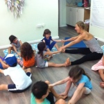 boat pose kids yoga 5aug'15